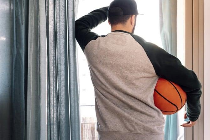 Basketball-Übungen für zuhause