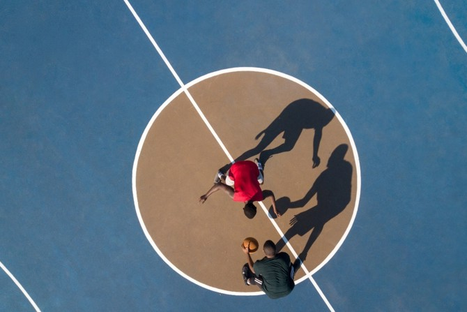 Positionen im Basketball