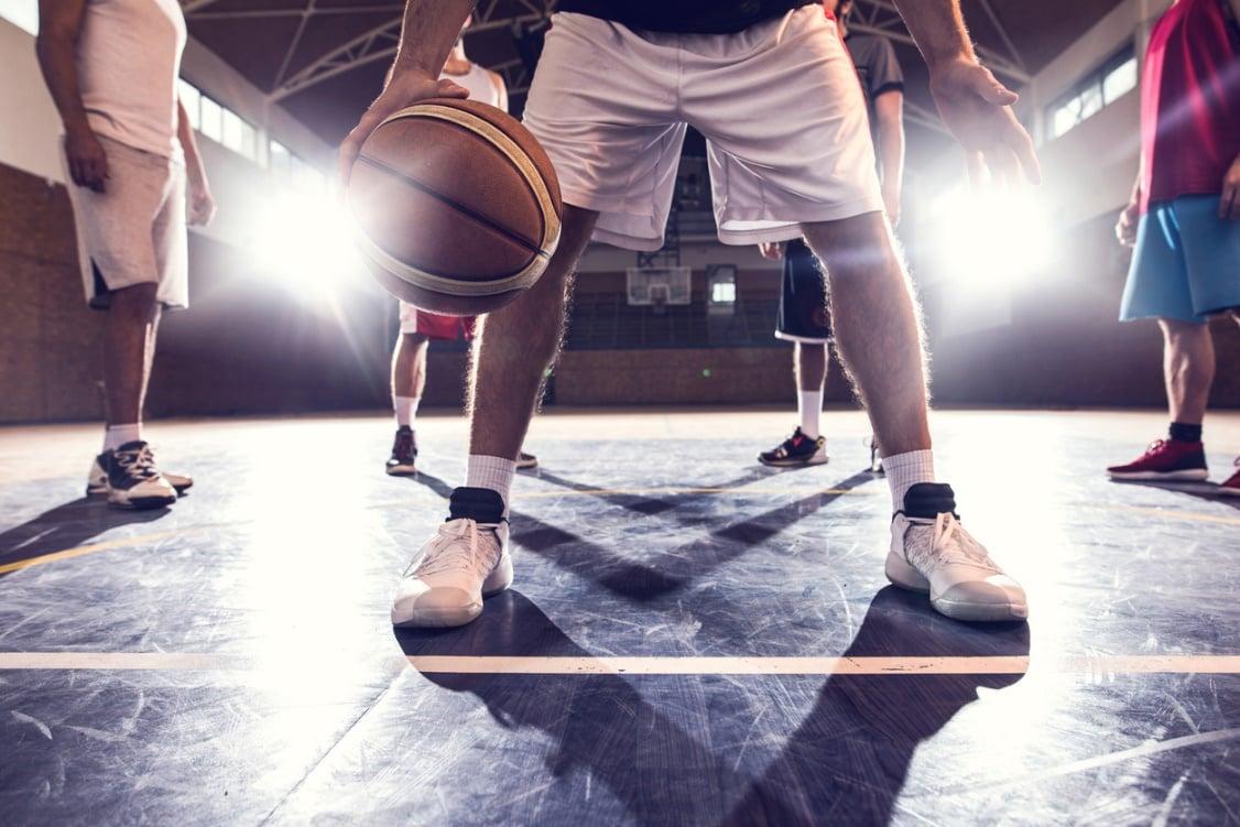 Schrittfehler Basketball
