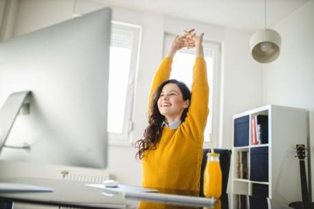 Bürogymnastik – für mehr Bewegung am Arbeitsplatz