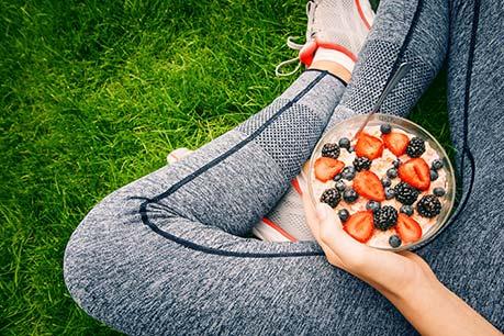 Richtig essen vor dem Laufen