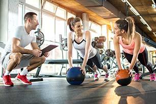 So werden Sie Fitnesstrainer