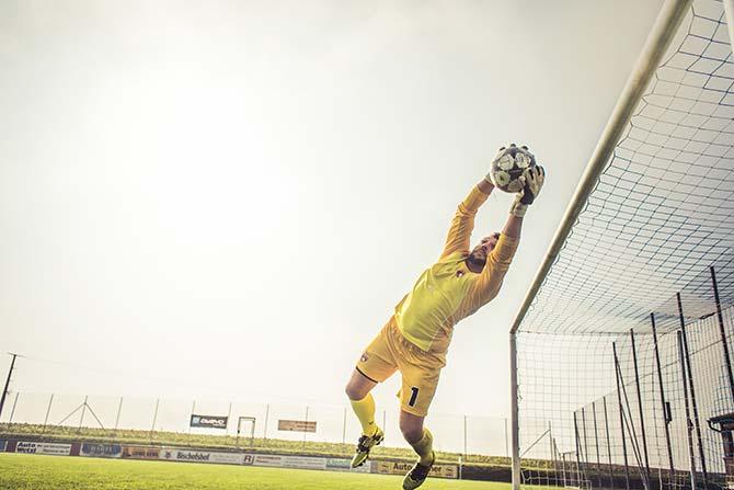 Torwarttraining Fußball