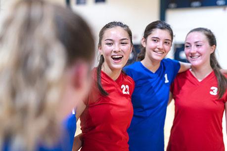 Aufwärmspiele im Handball
