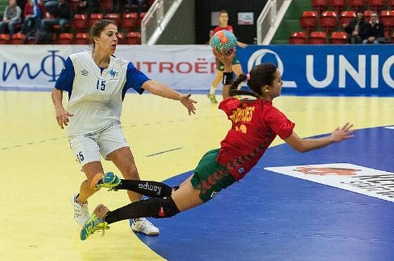 Fallwurf Handball