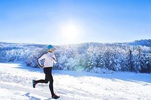 Fare jogging d'inverno