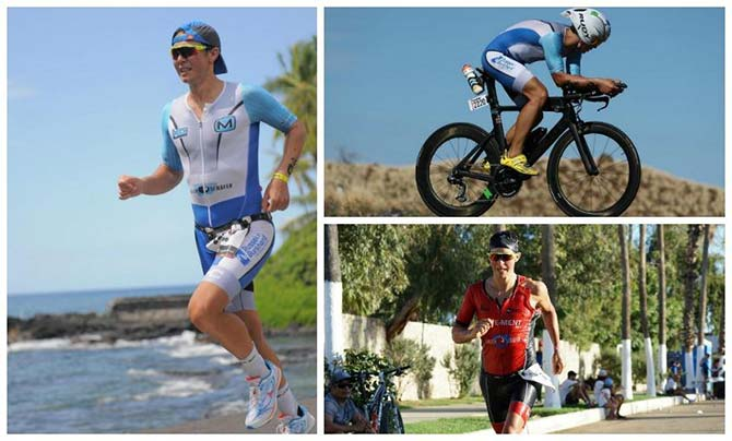 Tweevoudig starter bij de Ironman Hawaii: Philipp Mock uit Eschwege (DE).
