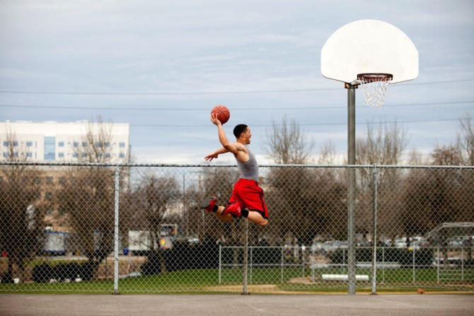 Sprungkrafttraining im Basketball