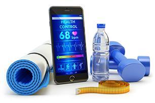 Personal Trainer für Handgelenk und Smartphone