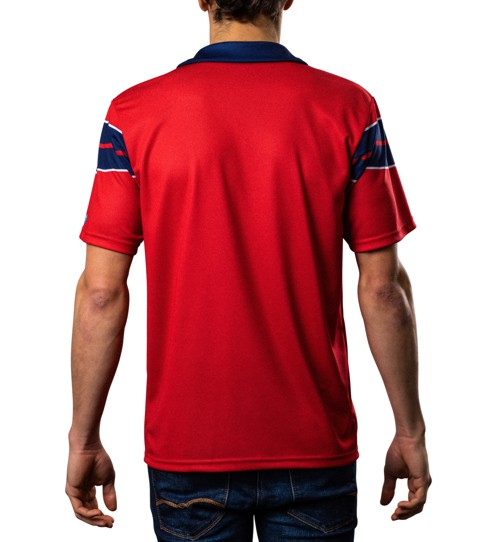Jersey with chest pocket FCP5 Pro Back View