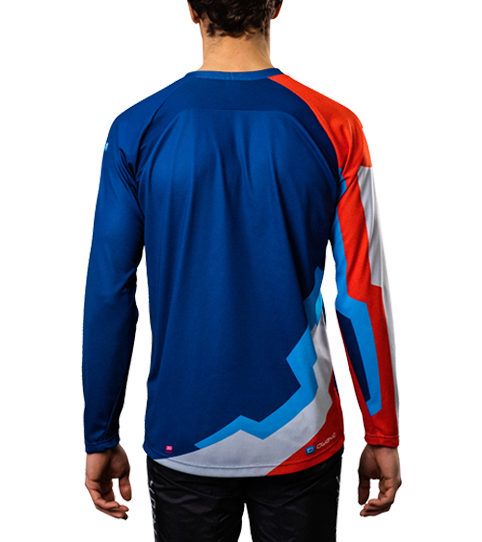 Camiseta MTB ML6 Hero mangas larga vista espalda