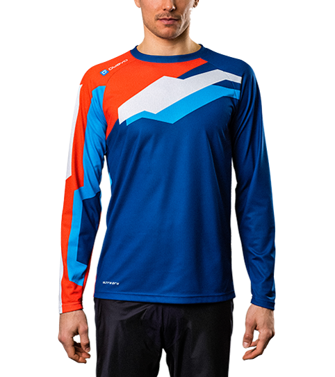 Camiseta MTB ML6 Hero mangas larga vista frontal