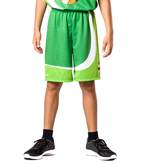 BP1 Kids Shorts Front View