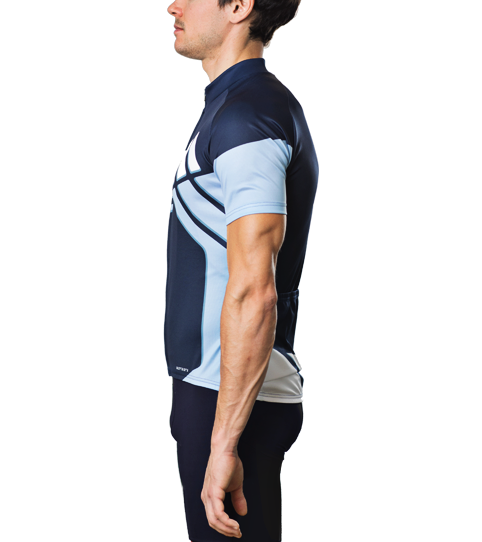 Cycling Jersey C3 Basic Side view