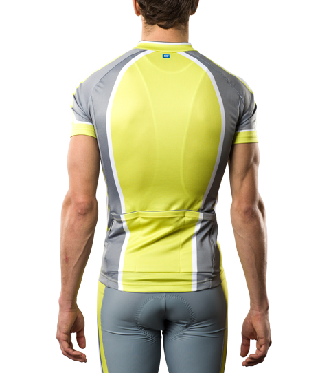 Cycling Jersey C5 Pro Men Back View