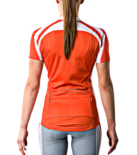 Cycling Jersey C5w Pro Ladies Back View