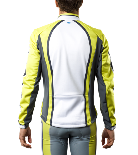 Softshell Jacket CJS5 Pro Back View