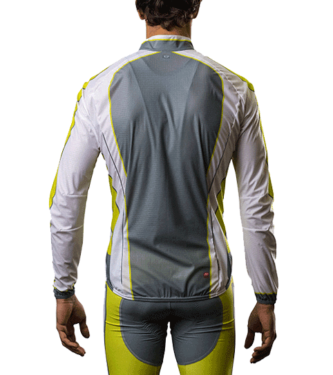 Wind Jacket CJW5 Pro Back View