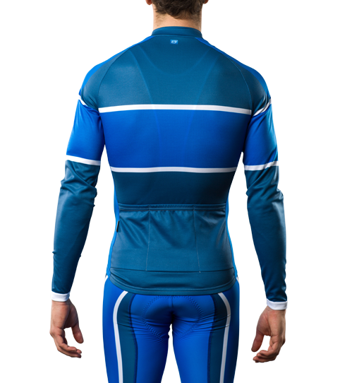 Cycling Jersey CL2 Sport Long Sleeve Back View