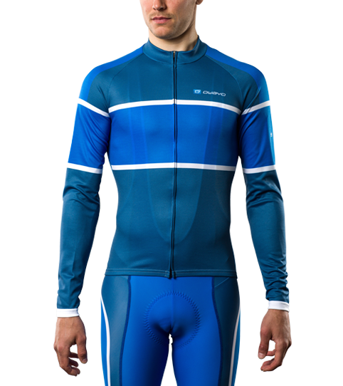 Cycling Jersey CL2 Sport Long Sleeve Front View