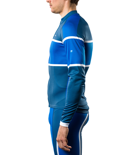 Cycling Jersey CL2 Sport Long Sleeve Side view