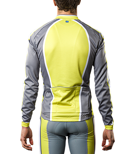 Cycling Jersey CL5 Pro Long Sleeve Back View