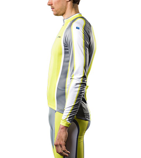 Cycling Jersey CL5 Pro Long Sleeve Side view