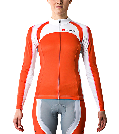 Cycling Jersey CL5w Pro Long Sleeve Ladies Front View