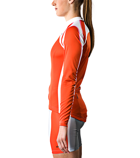 Cycling Jersey CL5w Pro Long Sleeve Ladies Side view