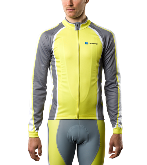 Winter Cycling Jersey CW5 Pro Front View