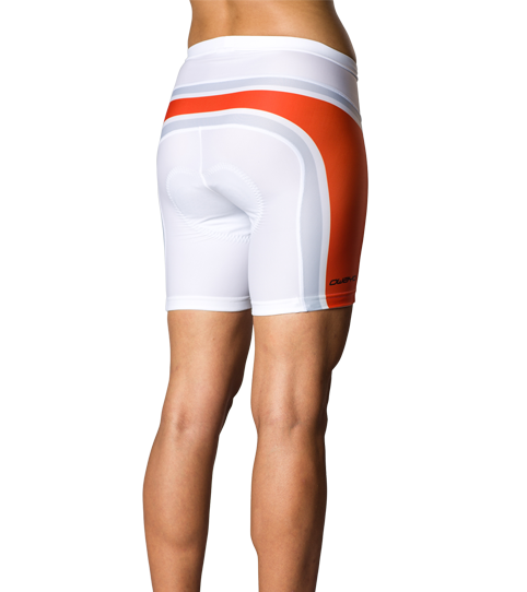 Cycling Shorts CP6w Comp Ladies Back View