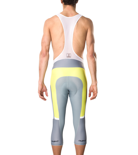 Cycling Bib Tights CPO5 Pro Men 3/4 Length Back View