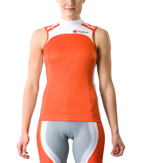 Wielershirt CT5w Pro Sleeveless Dames Vooraanzicht