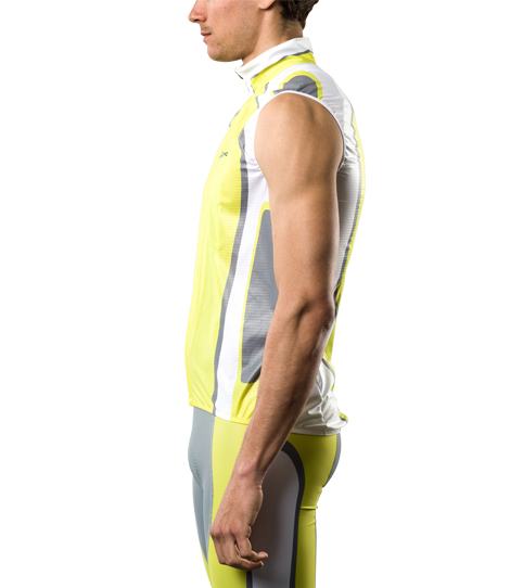Gilet (Wind Vest) CVG5 Pro Side view