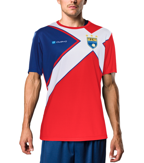 Camiseta F6 Hero vista frontal