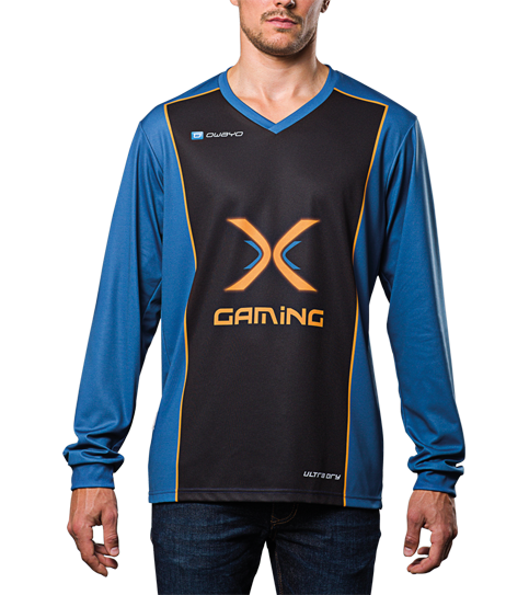 FL3 Basic Jerseys Long Sleeve Front View