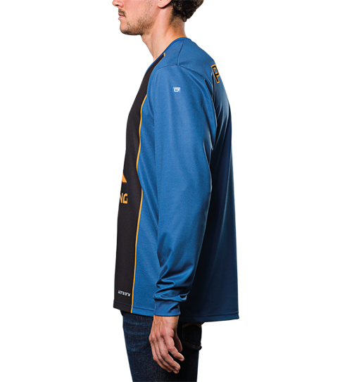 FL3 Basic shirts Long Sleeve Zijaanzicht