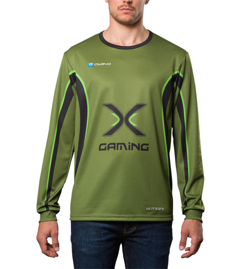FL5 Pro Jersey Long Sleeve Front View