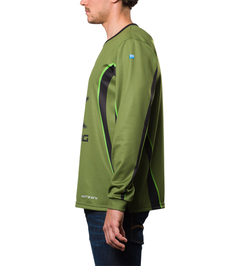 FL5 Pro Jersey Long Sleeve Side view