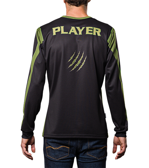 FL6 Hero Jersey Long Sleeve Back View