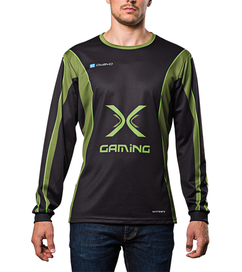 FL6 Hero Jersey Long Sleeve Front View