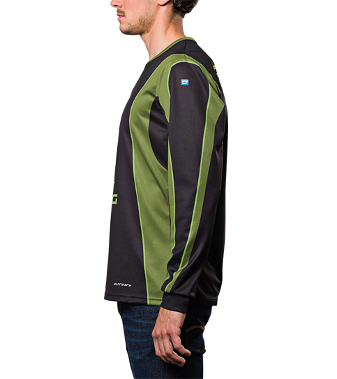 FL6 Hero Jersey Long Sleeve Side view
