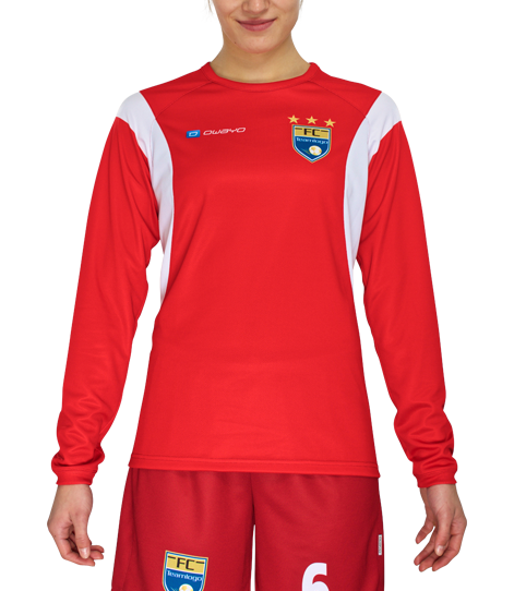 FL6w Hera Jerseys Long Sleeve Front View