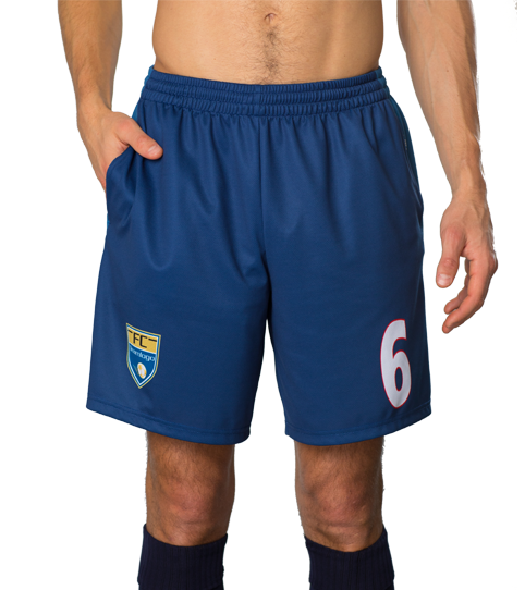 FPP5 Pro Shorts with Pockets Front View