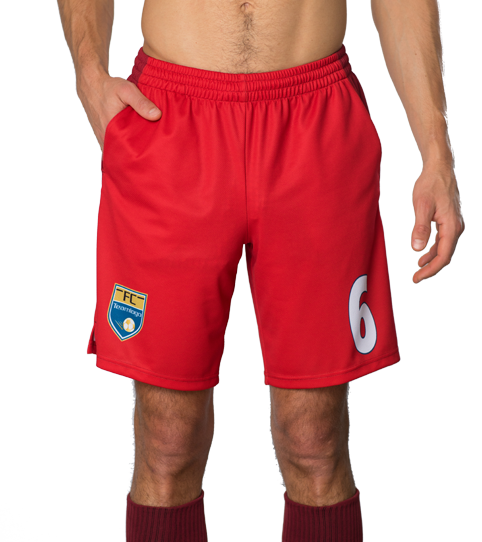 FPP6 Hero Shorts with Pockets Front View
