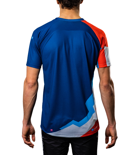 MTB Jersey M6 Hero Back View