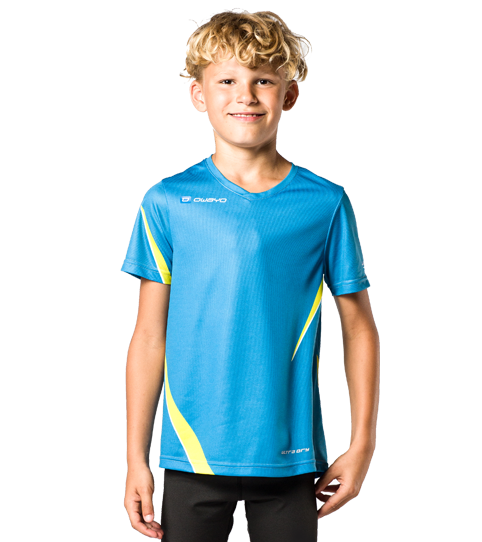 Camiseta running R1 Kids niños vista frontal