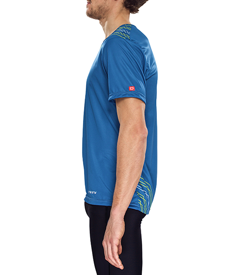 camiseta running R5 Pro vista lateral