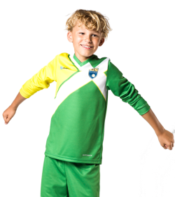 Shooting-Shirts FL1 Kids manga larga