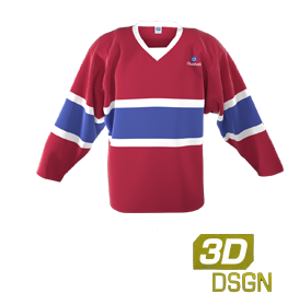 a50c8603ea8 Customised ice hockey jerseys designed in our 3D kit designer